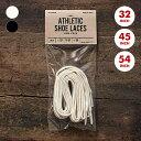 靴紐 靴ひも コットンシューレース /This is...(ディスイズ)All-Cotton Athletic Shoelaces 全3サイズ・2色【6点以上で...