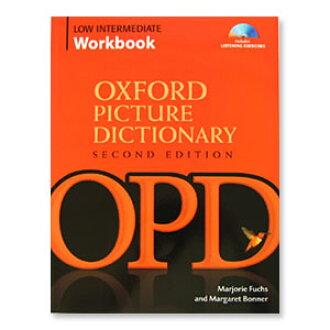 牛津字典低中间工作绘本与 CD 图片词典问题的英语教学工作簿