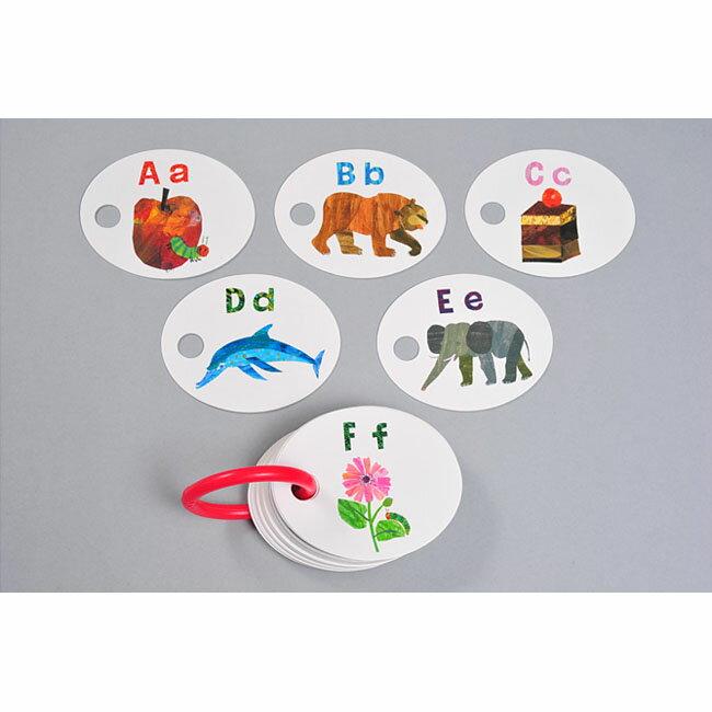 アルファベット絵カード はらぺこあおむしABC & 123カード(エリック・カール 外山節子 おもちゃ 女の子 男の子 幼児 子供 小学生 カード ゲーム はらぺこあおむし The Very Hungry Caterpillar) 誕生日プレゼント プチギフト 入園祝い