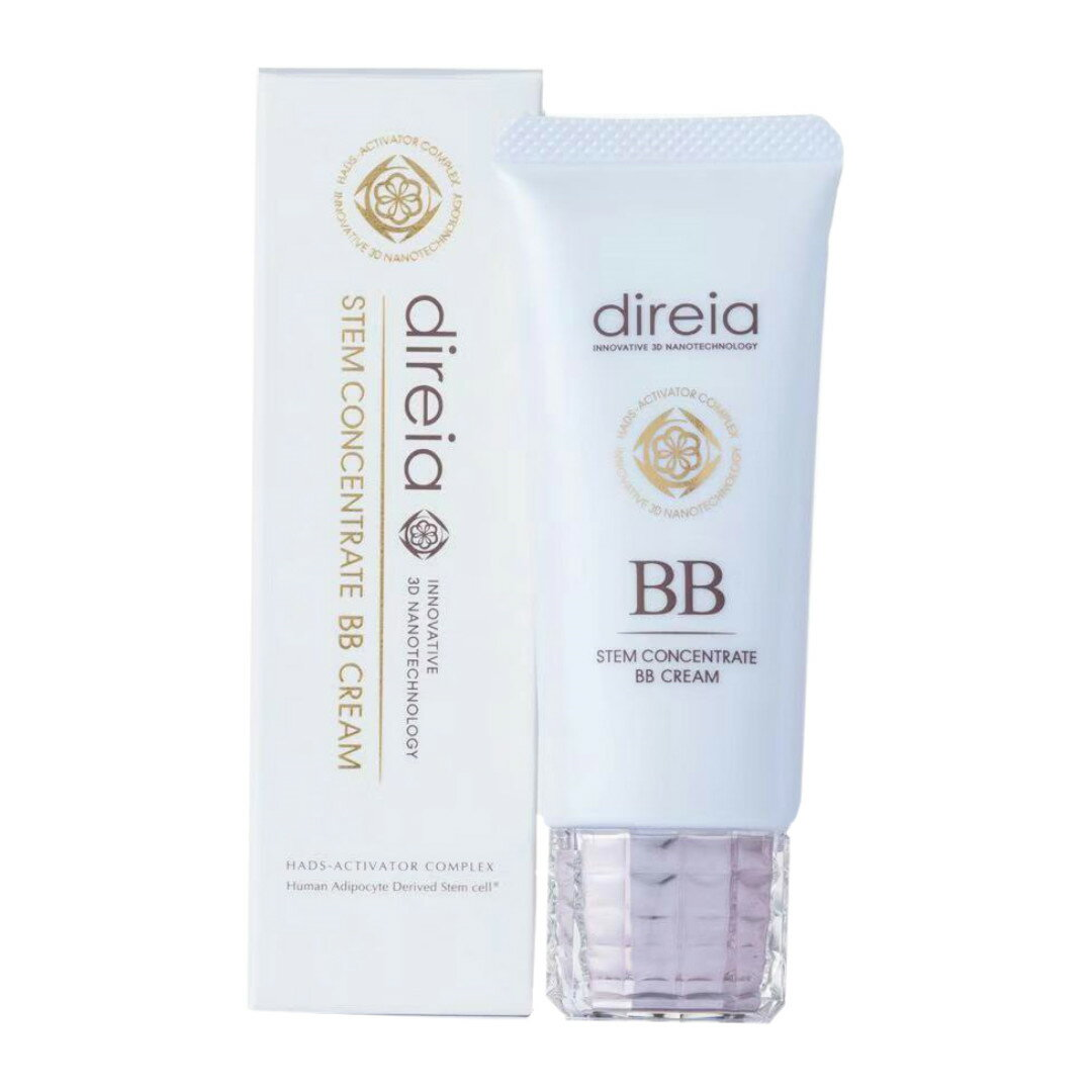 Direia ディレイア Stem Concentrate BB Cream ステム コンセントレイト BBクリーム プロ 40g イエロー 送料無料