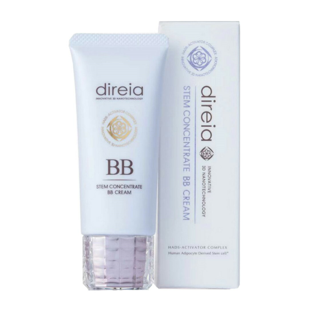 Direia ディレイア Stem Concentrate BB Cream ステム コンセントレイト BBクリーム プロ 40g ピンク 送料無料