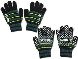SVOLME/スボルメJr.ジュニアボーダーニットグローブ/手袋(183-88229)