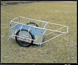 アルミ製折りたたみ式リヤカー