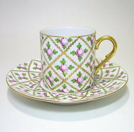 ヘレンド 【セーブル風小バラ金彩SPROG】 コーヒーC/S 2755 Herend コーヒーカップ ソーサー
