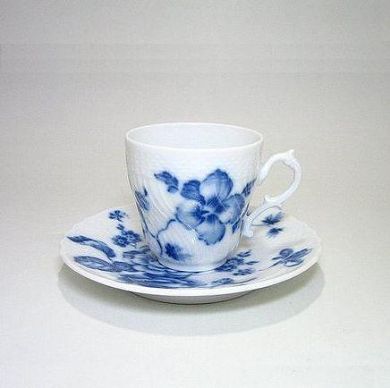 リチャードジノリ 【ローズブルー 】 コーヒーC/S・200cc
