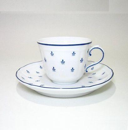 リチャードジノリ・ロイヤルブルー コーヒーC/S