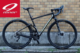 【2020年モデル】NINER(ナイナー) MCR 9 RDO フレームフォークセット BLACK / GRAY(ブラックグレー)【丸太町店(スポーツ専門)展示中】