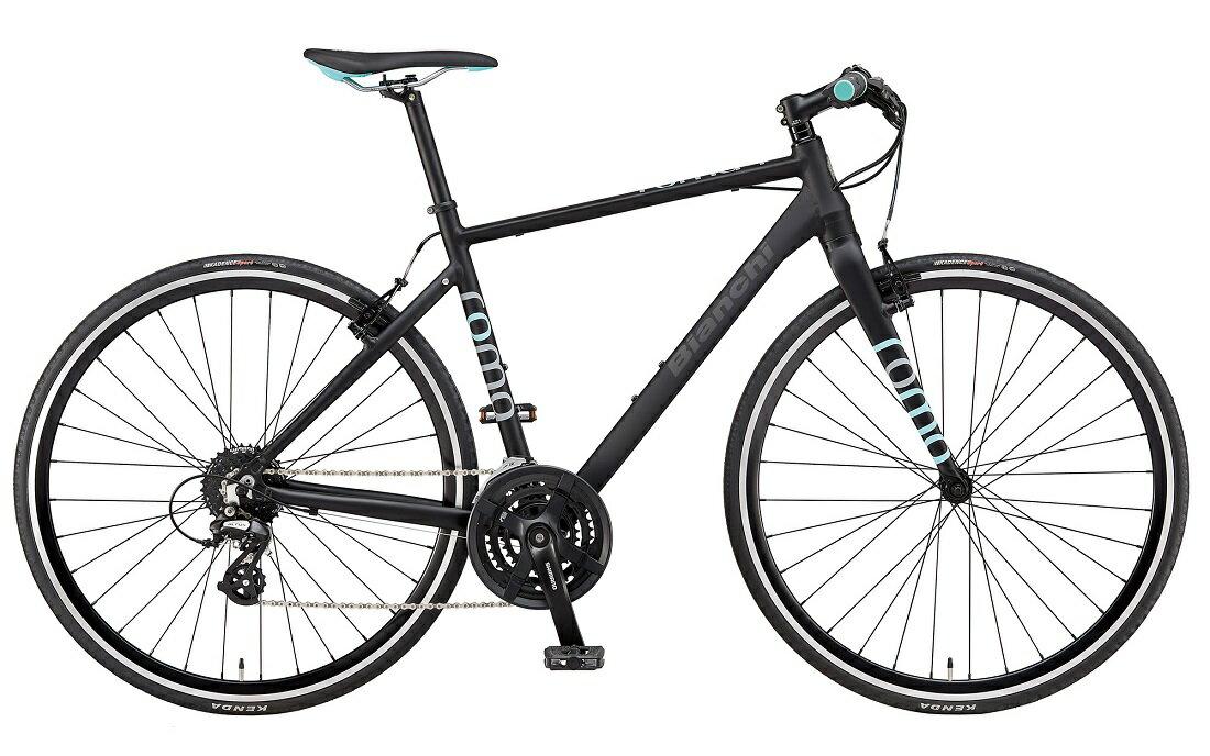 【2019年モデル】BIANCHI(ビアンキ) ROMA 4(ローマ4)サイズ:54 カラー:Matt Black【プロの整備士による整備組付済】クロスバイク【今出川京大前店別館】