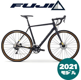 【2021年モデル】FUJI (フジ) JARI CARBON 1.1(ジャリカーボン1.1)【プロの整備士による整備組付済】【丸太町店(スポーツ専門)展示中】シクロクロスバイク