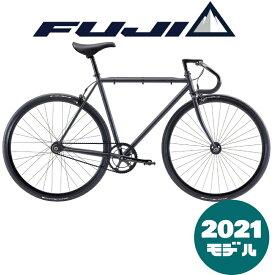 【2021年モデル】FUJI(フジ) FEATHER(フェザー)Matte Black(マット ブラック)【プロの整備士による整備組付済】シングルバイク