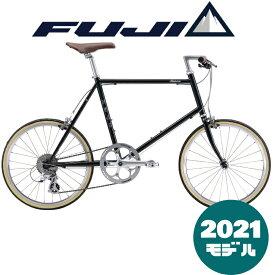 【2021年モデル】FUJI (フジ) HELION (ヘリオン) BRITISH GREEN (ブリティッシュグリーン) 【プロの整備士による整備組付済】【丸太町店(スポーツ専門)】ミニベロ