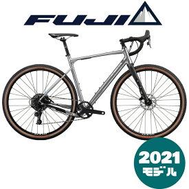 【2021年モデル】FUJI (フジ) JARI 1.3 (ジャリ 1.3) MATTE GUNMETAL (マットガンメタル)【プロの整備士による整備組付済】【丸太町店(スポーツ専門)】グラベルロードバイク