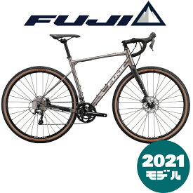 【2021年モデル】FUJI (フジ) JARI 1.5 (ジャリ 1.5) DESERT (デザート)【プロの整備士による整備組付済】【丸太町店(スポーツ専門)】グラベルロードバイク