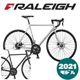【2021年モデル】RALEIGH(ラレー) CRB Carlton-B (カールトンB) 【プロの整備士による整備組付済】【丸太町店(スポーツ専門)】ロードバイク
