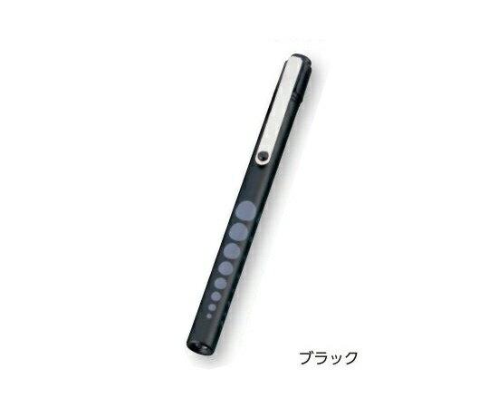 【メール便】 アズワン ペンライト ソフトLEDアルカプッシュライト ブラック φ12×137mm 瞳孔ゲージ付 (0-9271-26)