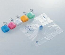 【メール便】 レサコ 人工呼吸用マウスシートRH 全5色(ブルー/ピンク/ホワイト/オレンジ/グリーン) (8-8515-0 )