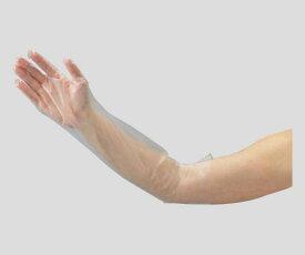 ポリエチレンロング手袋 ひじピタ M 100枚 食品衛生法適合 (2-9757-02)