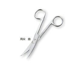 外科剪刀 (ディスポタイプ6本入) 両鈍 曲 DIS-305 (8-8549-02)