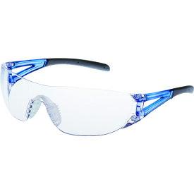 山本光学 一眼型セーフティグラス レンズ色クリア テンプルカラーブルー JIS規格品 LF-201
