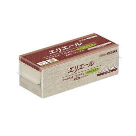 大王製紙 エリエールスマート 無漂白シングル小判 200枚入 703514 (004747778)