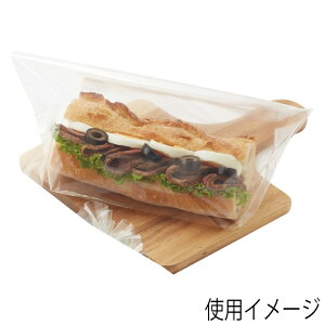 HEIKO OPベーカリー袋 無地 BG25-15 100枚入 ヘイコー シモジマ 006770420