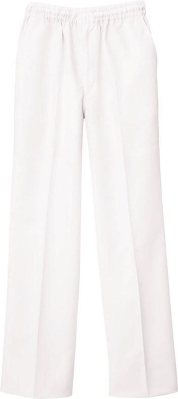 自重堂 WHISeL 男女兼用パンツ WH11486B ホワイト SS-4L