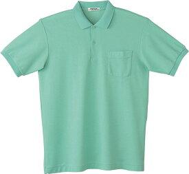 自重堂 WHISeL 半袖ポロシャツ 17 ミントグリーン