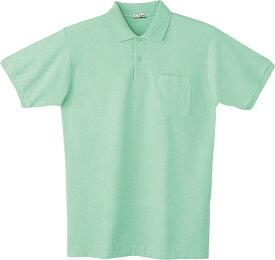 自重堂 WHISeL 半袖ポロシャツ 24414 ミントグリーン