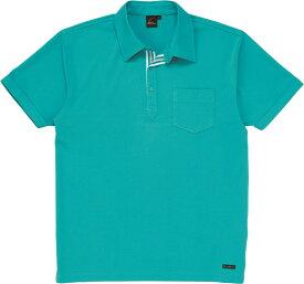 自重堂 WHISeL 半袖ポロシャツ 85214 ターコイズ