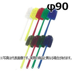 【法人様限定】 高砂 HP ボトルブラシ 一体型 φ90 レッド 54212 (メーカー直送)