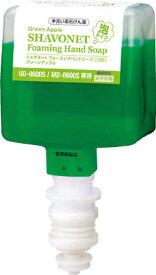 サラヤ 手洗い用石けん液 シャボネットユ・ムP-5 600mL泡 UD8600S・MD8600S用 (41942)医薬部外品