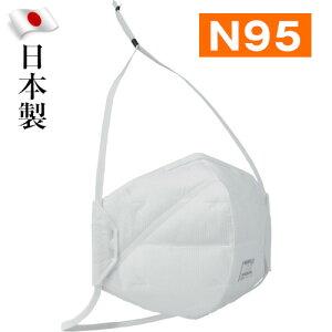 重松製作所 シゲマツ N95マスク 二つ折り 10枚入 DD02-N95-2K 日本製
