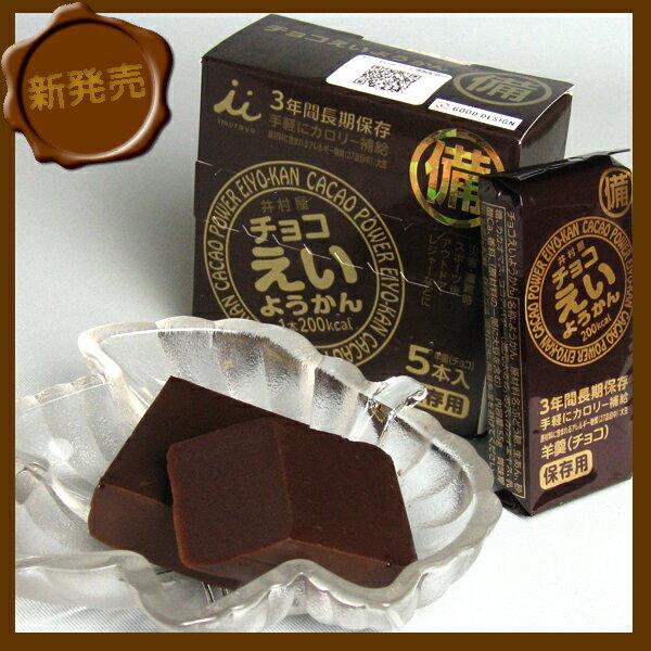 【まとめ買い特価】 井村屋 チョコえいようかん 55g×5本入 20箱セット
