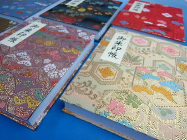 朱印帳 蛇腹(ジャバラ)式 100ページ ビニールカバー付