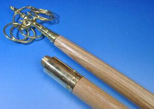 錫杖型金剛杖 2部式 長さ163cm