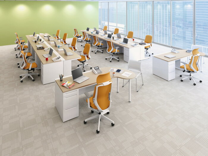 オカムラシルフィーC687BWクッションタイプハイバック可動肘ホワイトボディポリッシュ脚オフィスチェアOkamuraSylphy多機能チェアパソコンチェアワークチェアPCチェア完成品