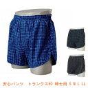 安心パンツトランクス80紳士用(男性用失禁パンツ 紳士用尿漏れパンツ 吸水量80cc)介護用品