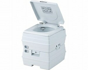 (代引不可) イーストアイ ビザポータブル水洗トイレ 24Lタイプ V24L(災害用トイレ 非常用トイレ ポータブルトイレ) 介護用品【532P16Jul16】