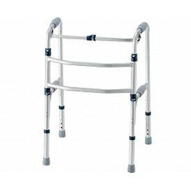 イーストアイ セーフティーアーム 交互式 KSAR-C シルバー (介護 歩行器 歩行補助器 折たたみ) 介護用品