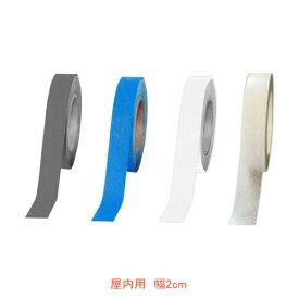 ノンスリップテープ巻物 屋内用10m 幅2cm (2cm×10m) シクロケア 介護用品