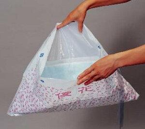 ウェルファン 優花パック(30枚入り×3パック) /P-002(排泄物処理袋 災害用トイレ)