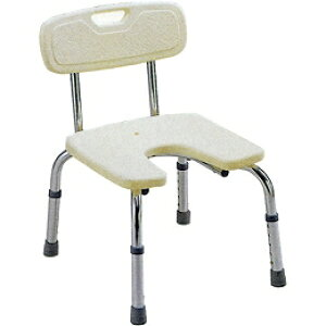 ミキ バスベンチU型座面 背付/ MYA-01031(入浴用品 シャワーチェア シャワーベンチ 風呂椅子)介護用品