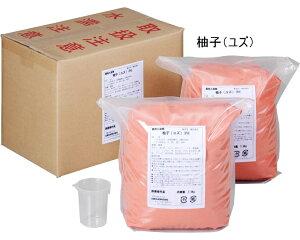 業務用入浴剤 柚子(ユズ) 15kg(7.5kg×2) フェニックス 介護用品【532P16Jul16】