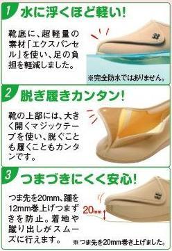 アサヒコーポレーション快歩主義L011両足販売(介護靴介護シューズ女性用婦人用レディース)介護用品