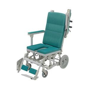 (代引き不可) シャワーラクリク U型シート SRC-003 ウチヱ (お風呂 椅子 浴用 シャワーキャリー 背付き 介護 椅子) 介護用品