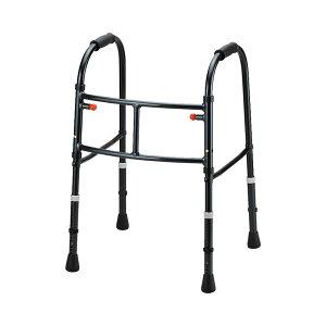 (代引き不可) MgウォーカーII型 固定式 S M 田辺プレス (歩行器 超軽量 歩行訓練 折りたたみ) 介護用品
