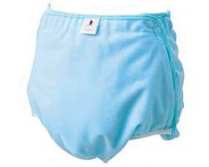 フリーカバー 403903 L ブルー フットマーク (おむつカバー おむつ 介護 おむつ 大人) 介護用品