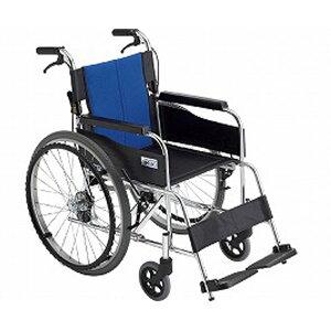 車椅子 軽量 コンパクト ミキ アルミ製自走式車いす BAL-1 ノーパンクタイヤ 9月入荷予定 代引き不可 時間帯指定不可 自走用車椅子 車イス 車いす介護用品