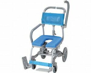 (代引き不可)楽チル U型シート RT-005 ウチエ(お風呂 椅子 浴用 シャワーキャリー 背付き 介護 椅子) 介護用品