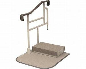 玄関用自在手すり ツインディ XPN-L80203 片手すり踏み台付 パナソニック (玄関台 立ち上がり) 介護用品